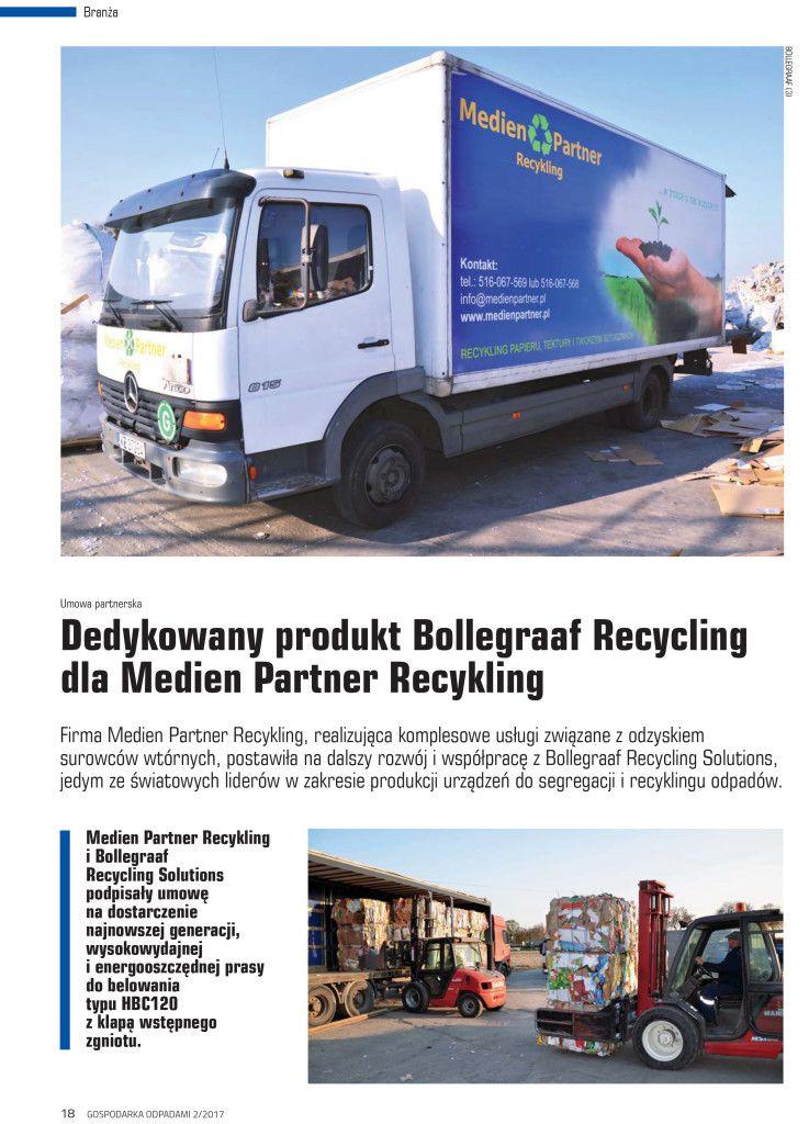 Medien Partner Recykling  w prasie